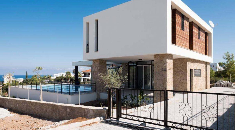 Beachfront Ultra-Modern Seaview villa 3 Bed - North Cyprus Property Z2