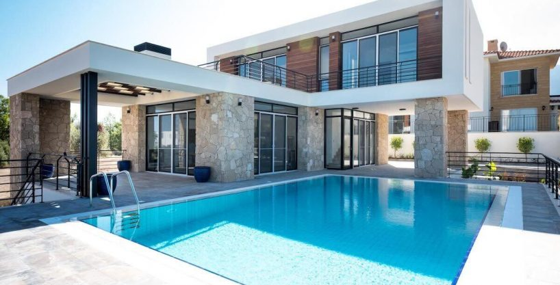 Beachfront Ultra-Modern Seaview villa 3 Bed - North Cyprus Property Z3