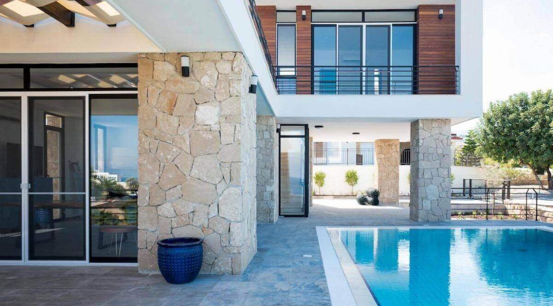 Beachfront Ultra-Modern Seaview villa 3 Bed - North Cyprus Property Z4