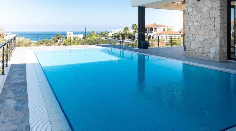 Beachfront Ultra-Modern Seaview villa 3 Bed - North Cyprus Property Z6