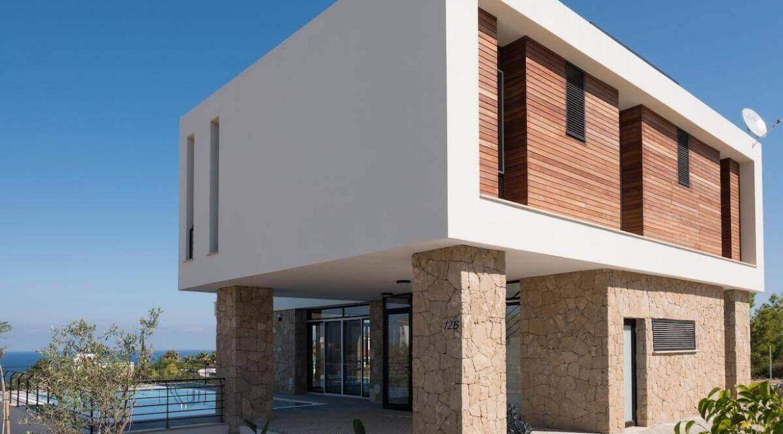 Beachfront Ultra-Modern Seaview villa 3 Bed - North Cyprus Property Z8