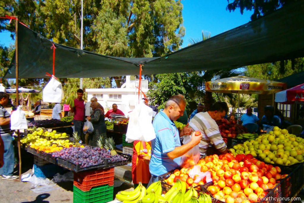 Guzelyurt Market - North Cyprus
