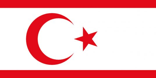 Turkish Republic Of North Cyprus Flag
