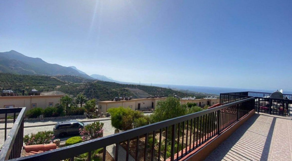 Arapkoy Panorama Penthouse 1 Bed - North Cyprus Property 6