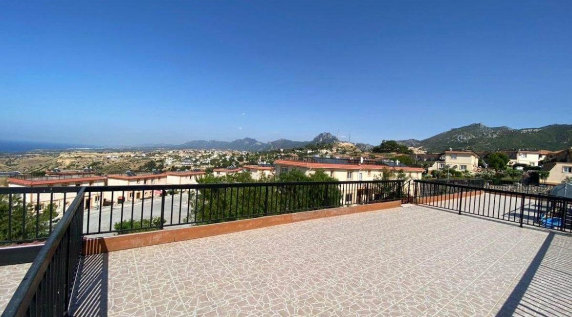 Arapkoy Panorama Penthouse 1 Bed - North Cyprus Property 8