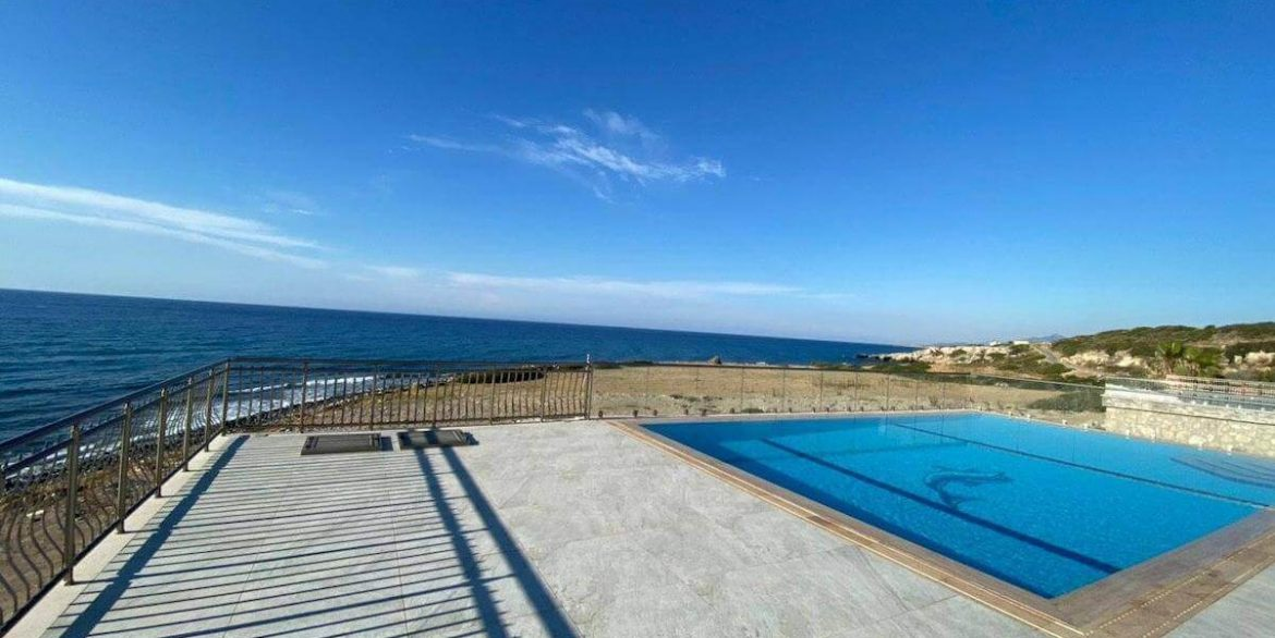 Esentepe Exclusive Beachfront Villa 4 Bed - North Cyprus 2