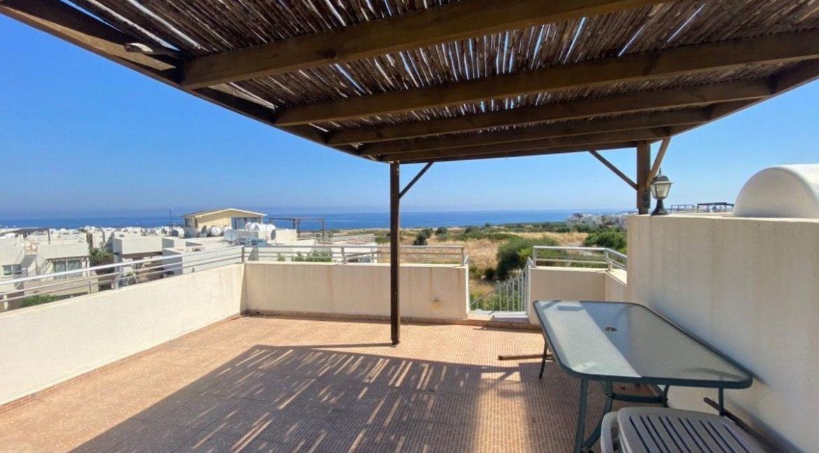 Turtle Beach & Golf Seaview Penthouse 2 Bed - North Cyprus Property 5