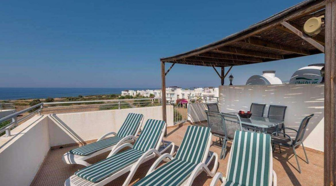 Turtle Beach & Golf Seaview Penthouse 2 Bed - North Cyprus Property Z34