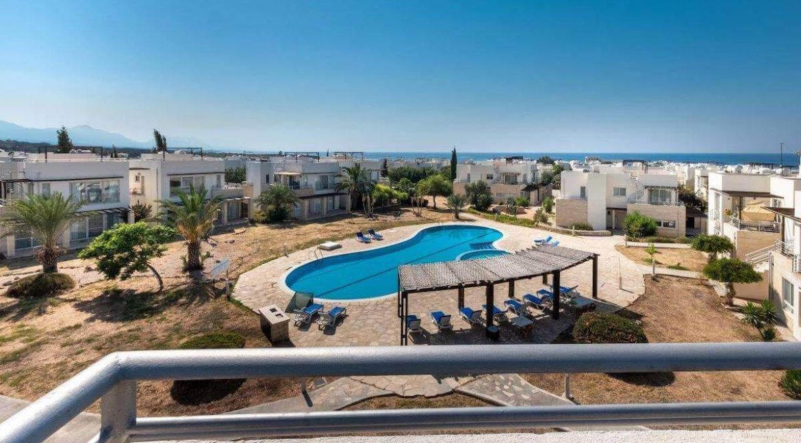 Turtle Beach & Golf Seaview Penthouse 2 Bed - North Cyprus Property Z35
