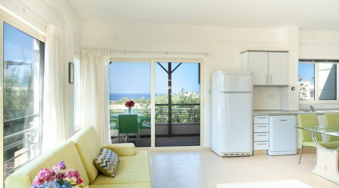 Turtle Beach & Golf Seaview Penthouse 2 Bed - North Cyprus Property Z44