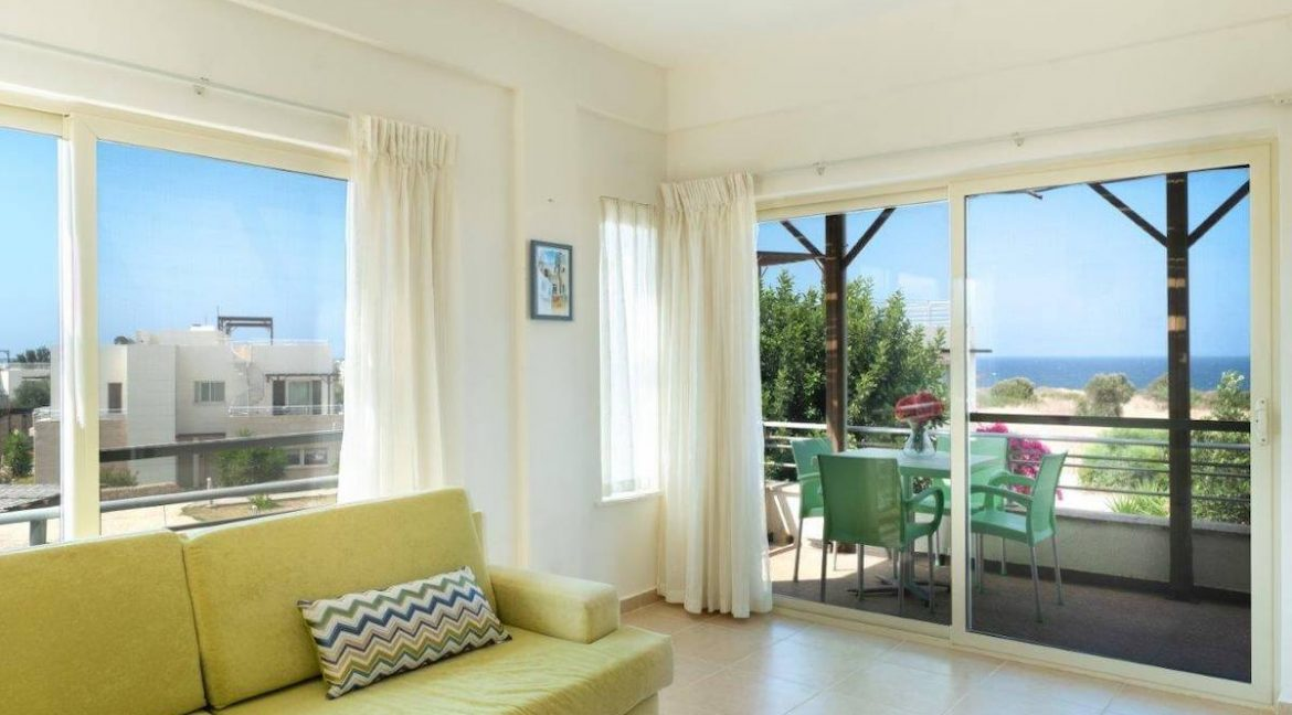 Turtle Beach & Golf Seaview Penthouse 2 Bed - North Cyprus Property Z45