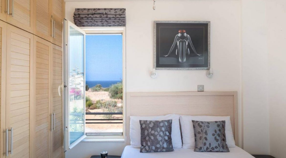 Turtle Beach & Golf Seaview Penthouse 2 Bed - North Cyprus Property Z47
