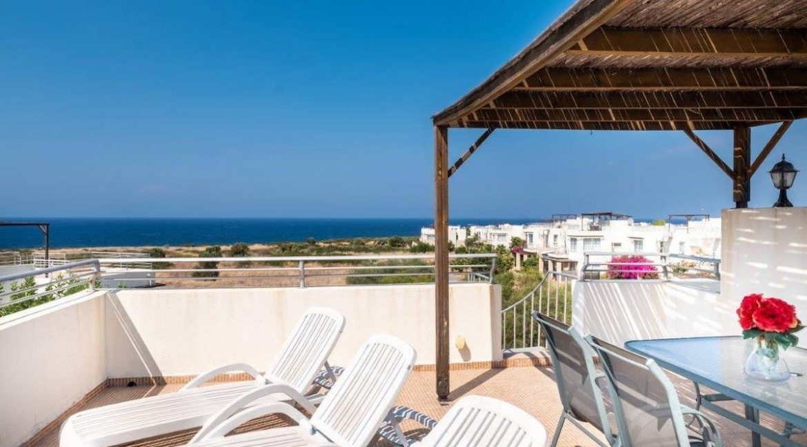 Turtle Beach & Golf Seaview Penthouse 2 Bed - North Cyprus Property Z48