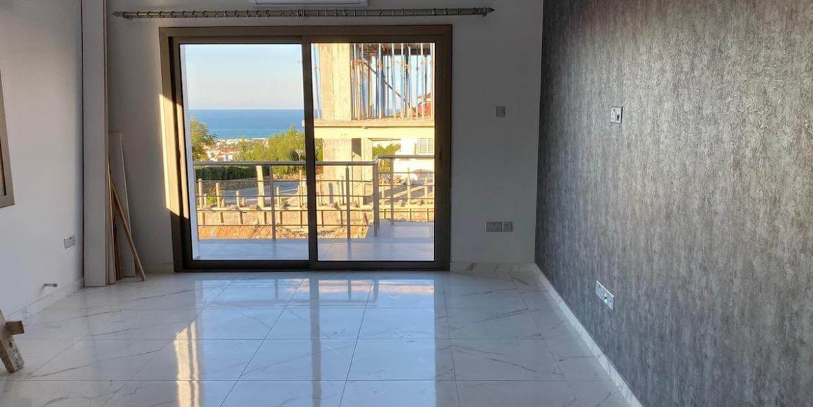 Upper Catalkoy Seaview VIlla 3 Bed - North Cyprus Property 1