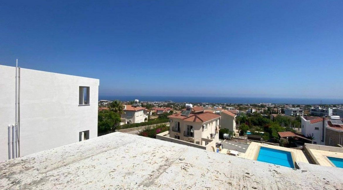 Upper Catalkoy Seaview VIlla 3 Bed - North Cyprus Property 11