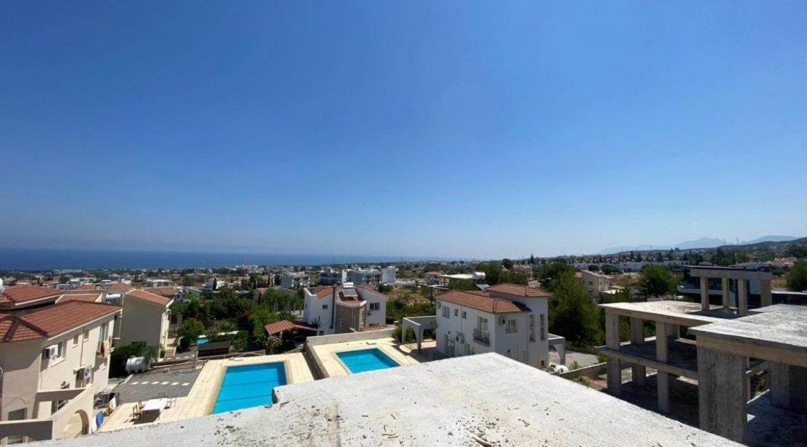 Upper Catalkoy Seaview VIlla 3 Bed - North Cyprus Property 12