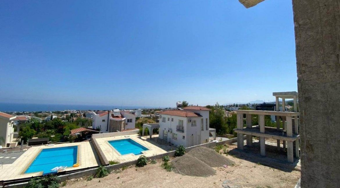 Upper Catalkoy Seaview VIlla 3 Bed - North Cyprus Property 8