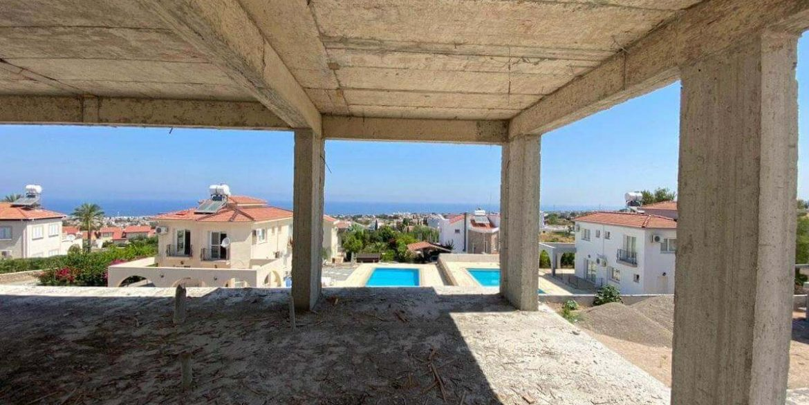 Upper Catalkoy Seaview VIlla 3 Bed - North Cyprus Property 9