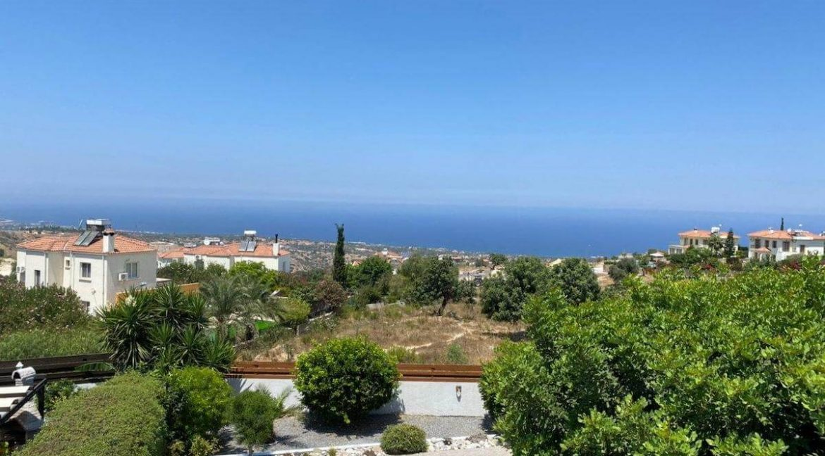 Arapkoy Panorama Seaview Villa 3 Bed - North Cyprus Property 27