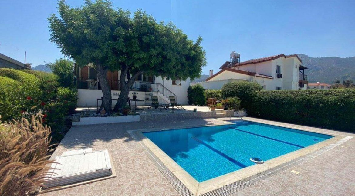 Arapkoy Panorama Seaview Villa 3 Bed - North Cyprus Property 45