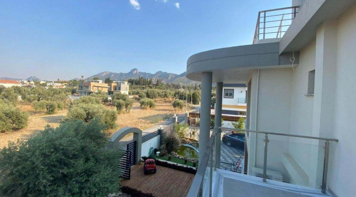 Catalkoy Modern Luxury Villa 4 Bed - North Cyprus Property 13