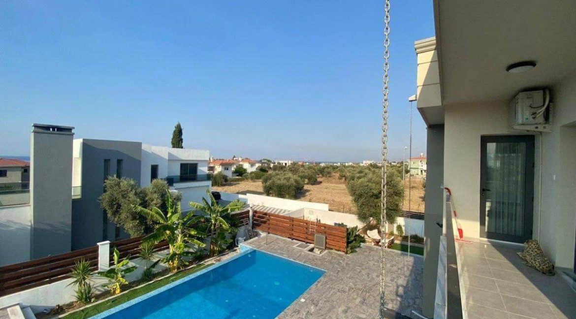 Catalkoy Modern Luxury Villa 4 Bed - North Cyprus Property 17