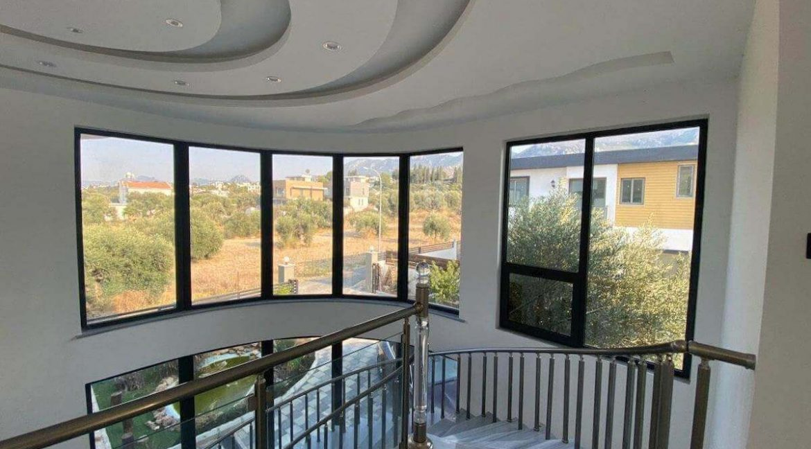 Catalkoy Modern Luxury Villa 4 Bed - North Cyprus Property 27