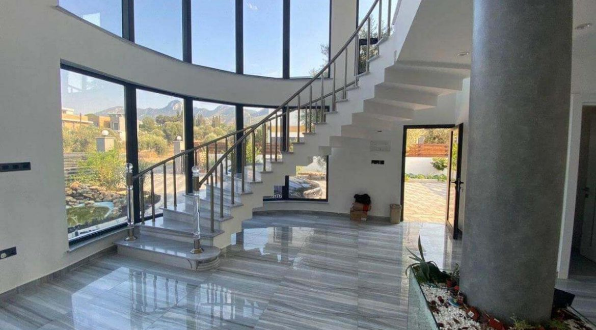 Catalkoy Modern Luxury Villa 4 Bed - North Cyprus Property 29