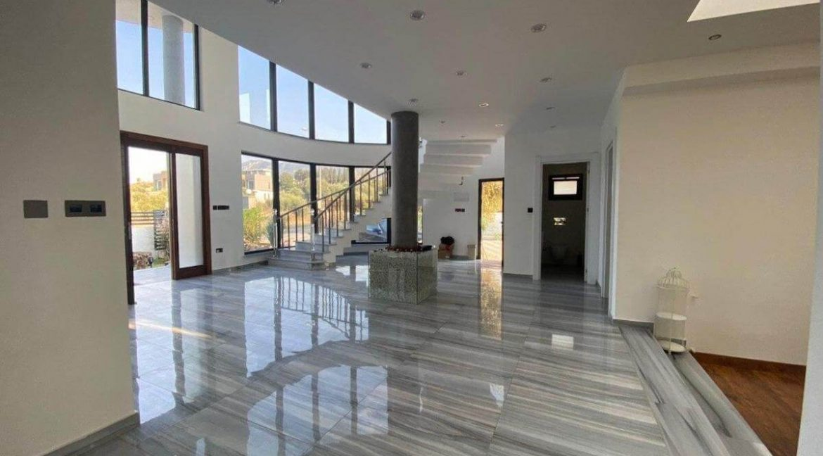 Catalkoy Modern Luxury Villa 4 Bed - North Cyprus Property 34