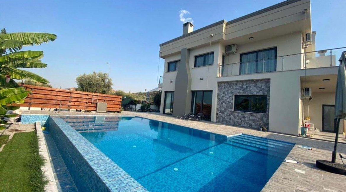Catalkoy Modern Luxury Villa 4 Bed - North Cyprus Property 46