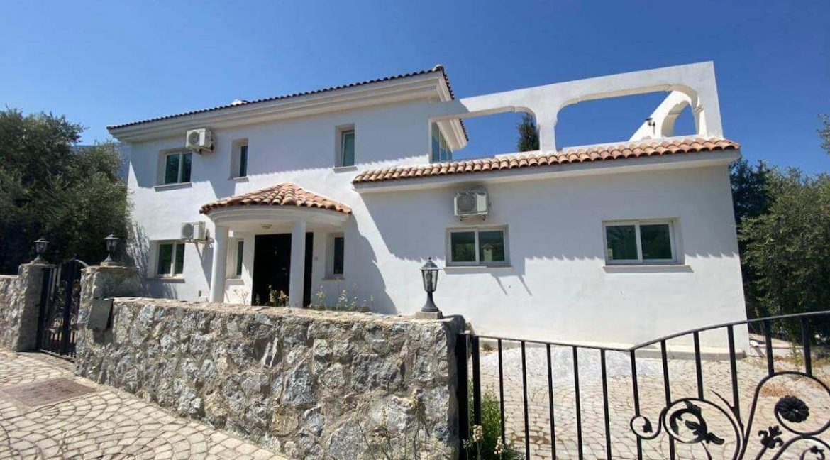 Turkish Title Villa Olive 4 Bed - North Cyprus Property 1
