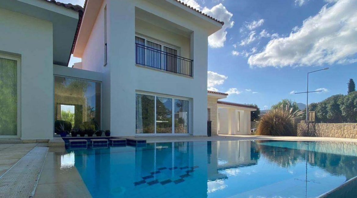 Esentepe Beach & Golf Luxury Modern Villa 3 Bed - North Cyprus Property 4