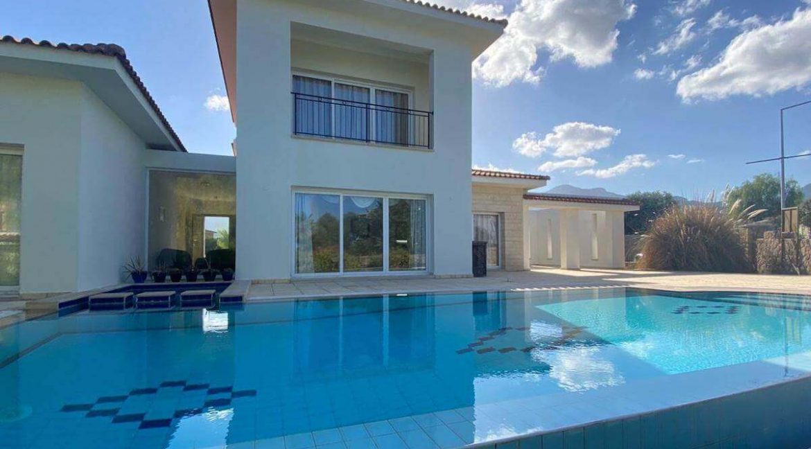 Esentepe Beach & Golf Luxury Modern Villa 3 Bed - North Cyprus Property 5