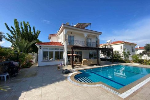 Bellapais Palms Seaview Villa 3 Bed - North Cyprus Property 19