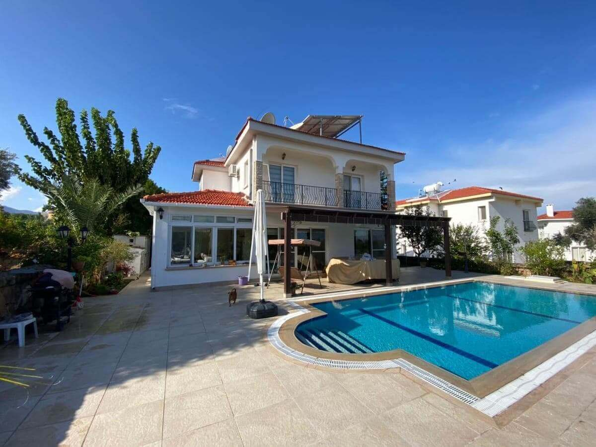 Bellapais Palms Seaview Villa 4 Bed