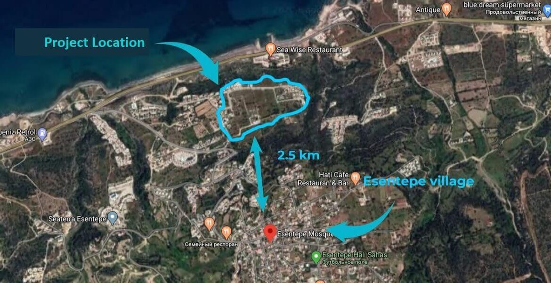 Esentepe Cliff Villas 3 Bed - North Cyprus Property 8