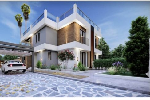 Esentepe Cliff Villas 3 Bed - North Cyprus Property SEP2