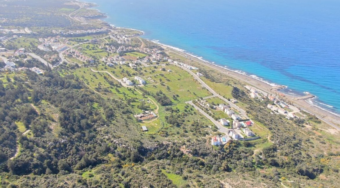 Esentepe-Cliff-Villas-3-Bed-View-From-Site-North-Cyprus-Property