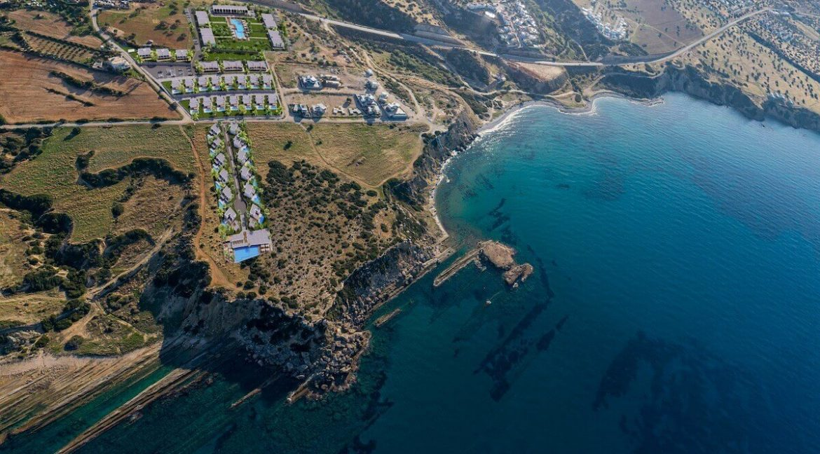 Beach and Spa Wellness Resort Studio Penthouse - North Cyprus Property S4