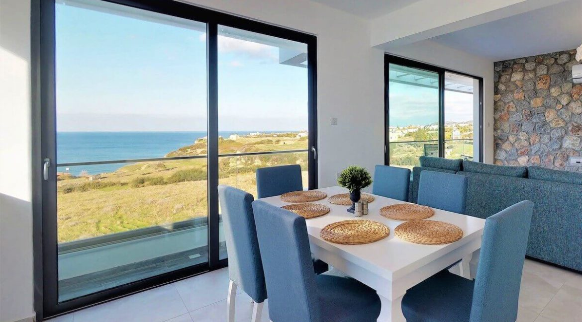 Bahceli Seafront Luxury Penthouse 3 Bed - North Cyprus Property 12