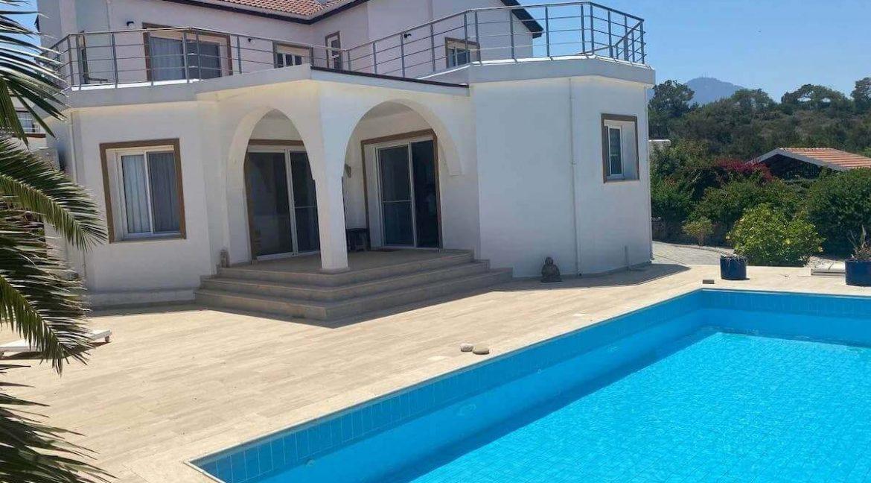 Esentepe Panorama Seaview Villa 4 Bed - North Cyprus Property 1
