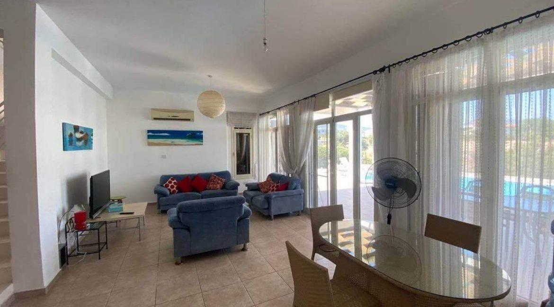 Esentepe Turtle Beach & Golf Seaview Villa 4 Bed - North Cyprus Property Z1