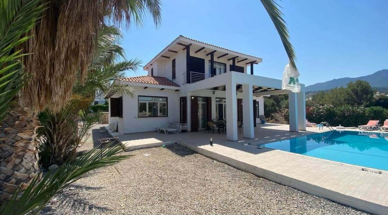 Esentepe Turtle Beach & Golf Seaview Villa 4 Bed - North Cyprus Property Z10