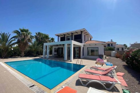 Esentepe Turtle Beach & Golf Seaview Villa 4 Bed - North Cyprus Property Z11