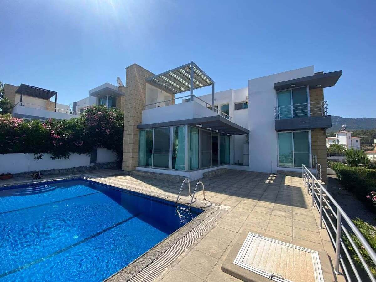 Esentepe Ultra Modern Panorama Villa 3 Bed