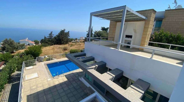 Esentepe Ultra Modern Panaroma Villa 3 Bed - North Cyprus Property 8
