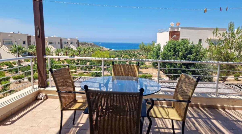 Tatlisu Coast Seaview Penthouse 2 Bed - North Cyprus Property 13