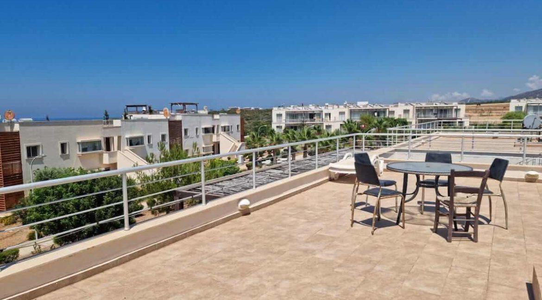Tatlisu Coast Seaview Penthouse 2 Bed - North Cyprus Property 17