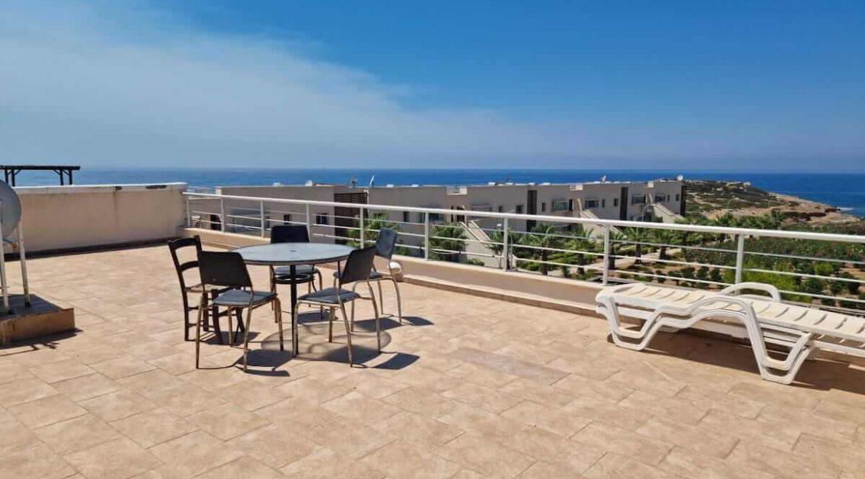 Tatlisu Coast Seaview Penthouse 2 Bed - North Cyprus Property 18