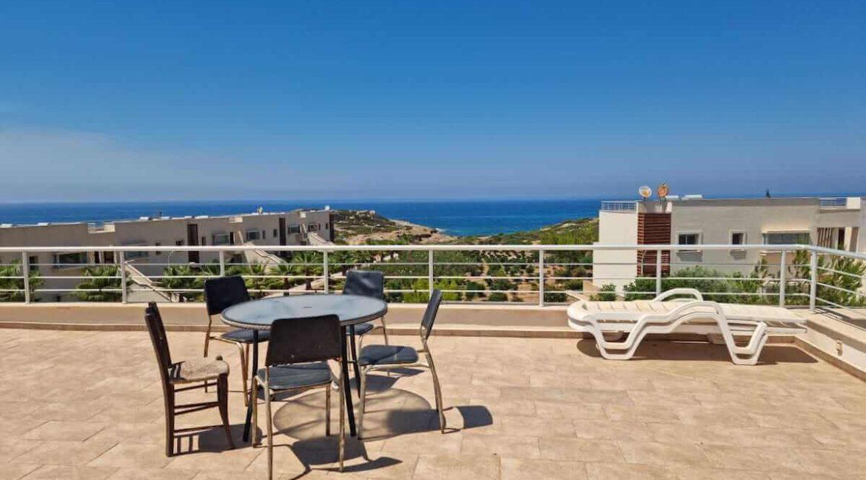 Tatlisu Coast Seaview Penthouse 2 Bed - North Cyprus Property 2